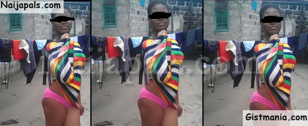 PHOTOS: Girl Comes Under Fire After Showing Off Her Panties In A Picture Posted Online