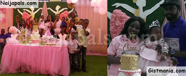 Photos From Goodluck Jonathan's Grand-daughter, Eliana Godswill-Edward's Birthday Party