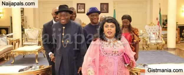 PHOTOS! Goodluck Jonathan & Wife, Patience Visit Governor Nyesom Wike In Rivers