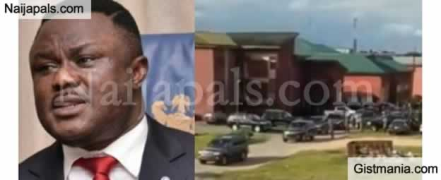 River State Governor, Ayade Becomes UNICAL Student, Spotted Leaving School In 20-Jeep Convoy