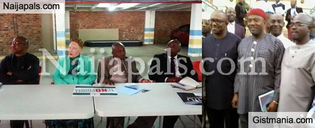 Ex Gov Peter Obi Visits Nigerian Community In South Africa [Photos]