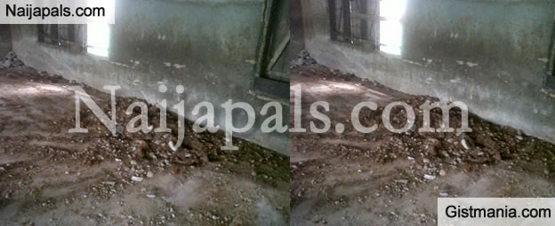 MYSTERY: Grave Discovered Inside Primary School Classroom In Edo State
