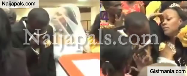 Kenyan Pastor's Wedding Disrupted By Jilted Ex-Girlfriend and Other Wives (Full Video Inside)