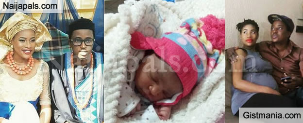 Its A Girl! GT Da Guitarman And Wife Overjoyed With Latest Addition In The Family - Photos