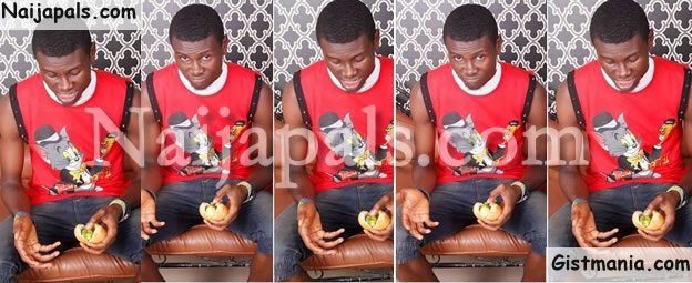 PHOTOS: This Is What A Guy Saw In The Egg Roll He Bought In Aba