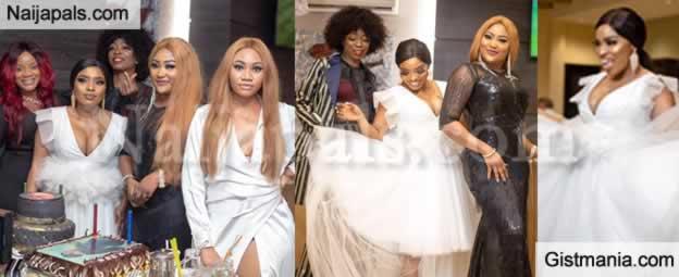 Check Out Photos from Nollywood Actress, Halima Abubakar's Birthday Dinner