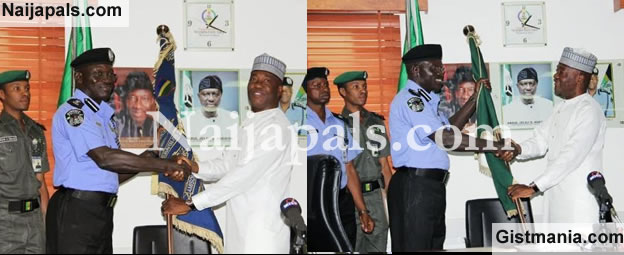 Suleiman Abba Takes Over as the New Police IG as MD Abubakar Hands Over