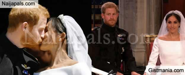 #RoyalWedding: Prince Harry and Meghan Markle Church Wedding Photos (Duke and Duchess Of Sussex)