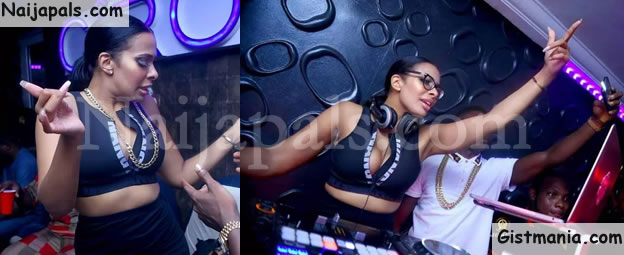 OH! MY!! MY!!! Check Out This Pretty & Hot Female DJ (Photos)