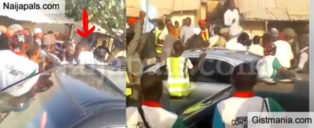Shock As House Of Assembly Aspirant Pulls Out Gun During Rally (Video)