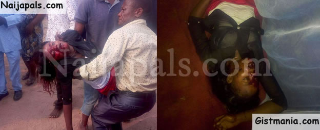 Man Locks Door & Beat Wife To Death And Escape Through The Window (Gory Photos)