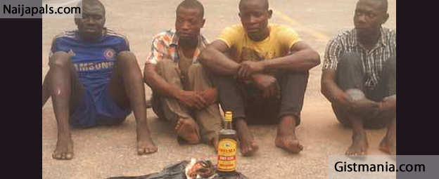 CLIFFORD ORJIS! Human Part Sellers Arrested In Lagos State
