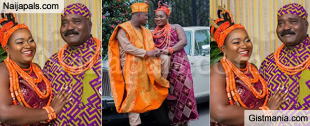 Benin Kingdom Shut Down For The Traditional Wedding of Lucky Igbinedion's Daughter (Photos)