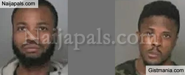 Photos Of Two Igbo Men Arrested in New York Over Credit Card Forgery