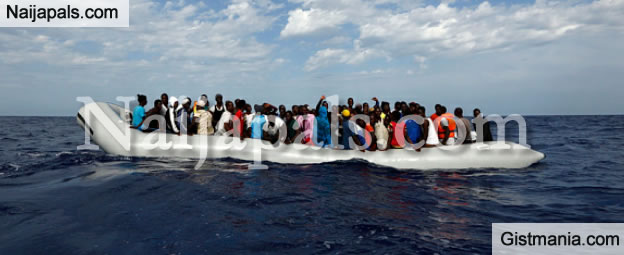 Immigration Baby: Pregnant Nigerian Woman Gives Birth On Mediterranean Sea Trying To Get To Europe