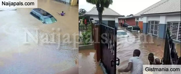 Residents Stranded As Flood Takes Over Imo State (Photos)