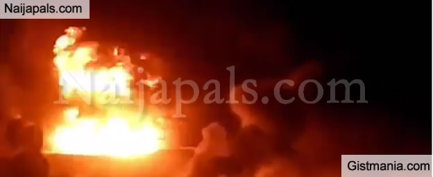 Traders Cry Out As Midnight Fire Destroys Goods Worth Millions In Oyo Market