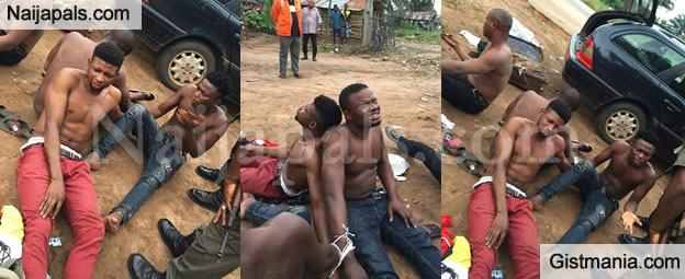 Internet Fraudsters Caught With Girls Pants And Other Ritual Items In Delta State.