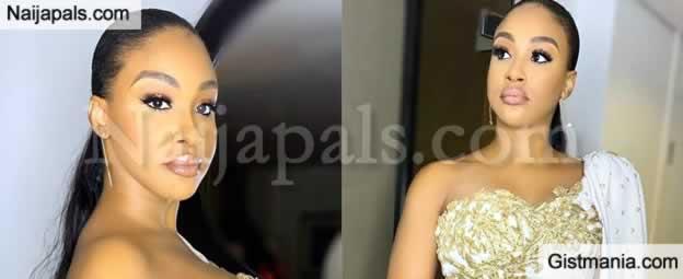 Anthony Joshua's Sister, Janet Joshua Looks Stunning DJ Cuppy's Gold Gala In Abuja