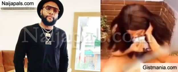 Jealous Nigerian Man Batters His Girlfriend For Using Musician's Photo As Wallpaper (Video)