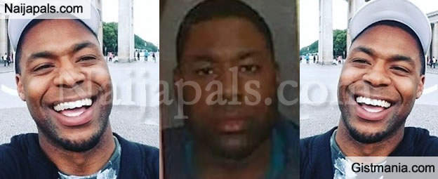 UPDATE! New Photos Of Nigerian Vandal, Ewohime Who Smashed Consulate's Official Cars in London