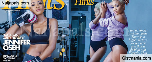 Video Vixen, Jennifer Oseh Pictured On The Cover Of The Latest Hints Magazine -See Photos