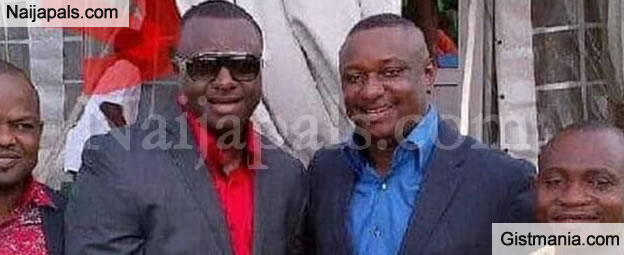 Buhari's New Minister, Festus Keyamo Spotted With One Of The Fraudsters Arrested By FBI
