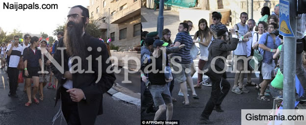 Ultra Orthodox Jew Stabs 6 People at At Jerusalem Gay Pride March Yesterday (PHOTOS)
