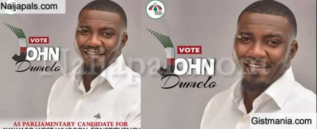 Ghana Top Actor, John Dumelo Joins Politics, Set To Contest For Seat At Ghana Parliament