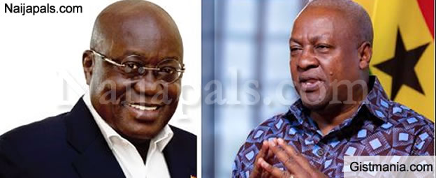 Breaking! Nana Akufo-Addo, Main Opposition Candidate Wins Ghanaian Presidential Election