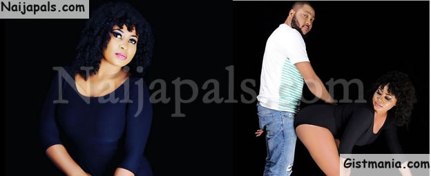 "Yoruba Actress, Joke Jigan Makes A ""Doggy Style"" Pose With Boyfriend In New Photos"