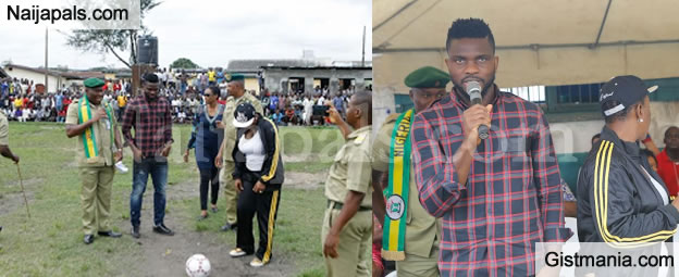 Joseph Yobo Vows To Secure Bail For Ikoyi Prison Inmates As He Launches Football Academy - Photos