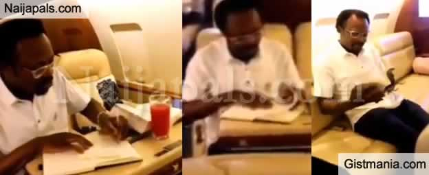 VIDEO: Pastor Joshua Iginla Acquires a Private Jet, Shows Off The Interiors