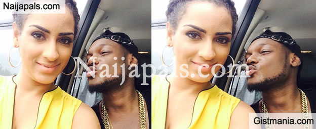 Juliet Ibrahim & 2Baba Hanging Out Together
