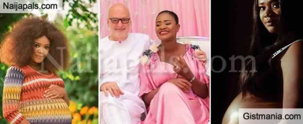 Ghanaian Actress, Kafui Danku Welcomes Baby No. 2 With Her Husband In London