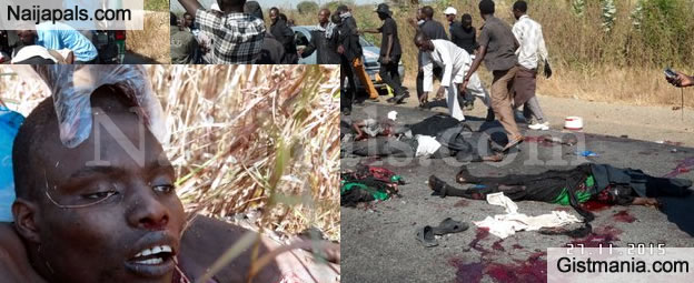 SHOCKING! Photos From The Deadly Bomb Blast That Rocked Kano Mosque Today