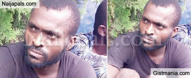 26yr Old Bricklayer, Kenneth Ofoke Caught Selling His Twins Babies For N500k in Edo