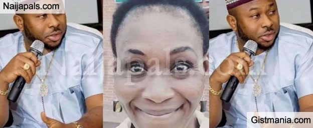 """""""You Can Hang Out With 2000 Women"""" – Kemi Olunloyo Shades Tonto Dike's Estranged Husband, Churchill"""