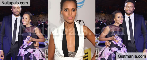 Actress, Kerry Washington and Nigerian Husband, Nnamdi Asomugha Expecting Second Baby