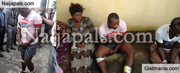 "At Last!!! Notorious Kidnapper Popularly Known as ""Vampire"" Has Been Arrested (PHOTOS)"