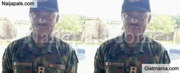 Army Officer Captain Tijani Balarabe, Working With Taraba Kidnapper, Identified (Photo)