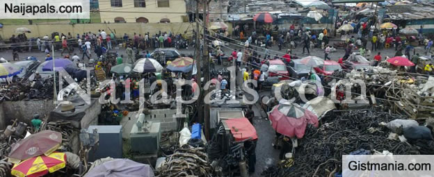 Ladipo Auto Spare Parts Market Demolished Amidst Anger and Tears