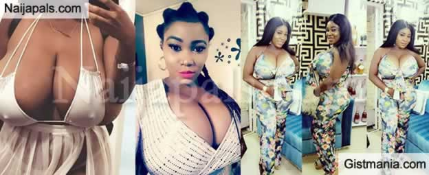 JUICY! Photos Of Endowed Lady Shares Video Of Man Who Masturbated In Front Of Her Shop In Lagos