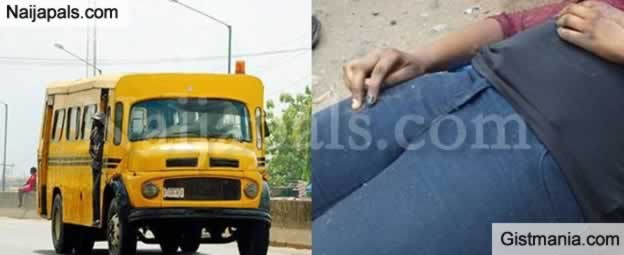 SO SAD! Lady Dies While Alighting From A Bus In Lagos