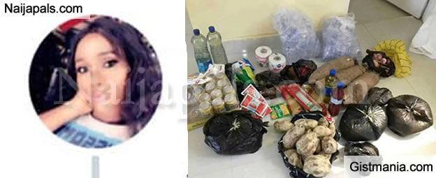 Nigerian Lady Claims She Bought All These Food Stuff With Just N2,280