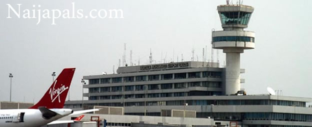National Disgrace: Check Out How The Roof Of Lagos International Airport Is Leaking (Video)