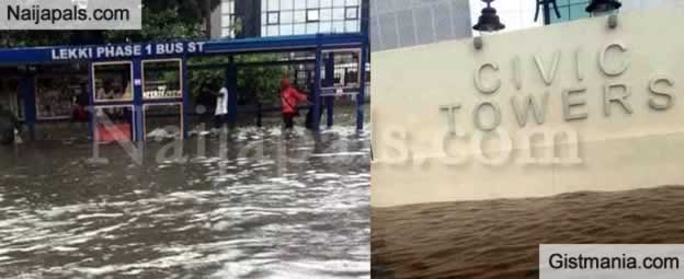How Flooding Totally Destroyed Lagos State and Brought The City To a Halt