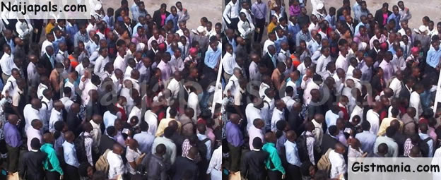 OMG! 60,000 Youths Apply For Just 1,200 LASTMA Jobs In Lagos (See PHOTOS)