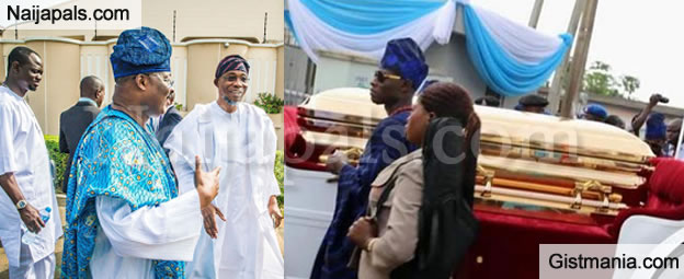 First Photos From Late H.I.D Awolowo's Funeral Ceremony