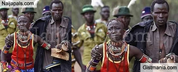 WEIRD! This Tribe Allow Men To Kidnap Girls They Desire To Marry & The Men Get Beaten To Show Approval
